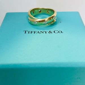 Tiffany&Co Estate Diamond Etoille Ring
